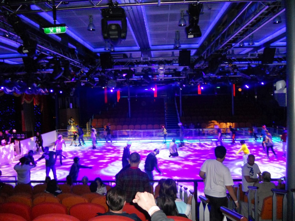 Ice Skating Rink on the Oasis of the Seas