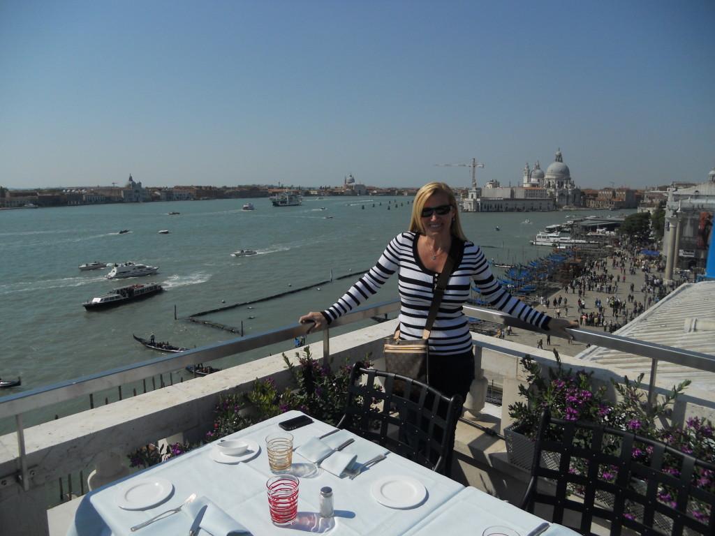 View from the Restaurant Terrazza Danieli, Venice