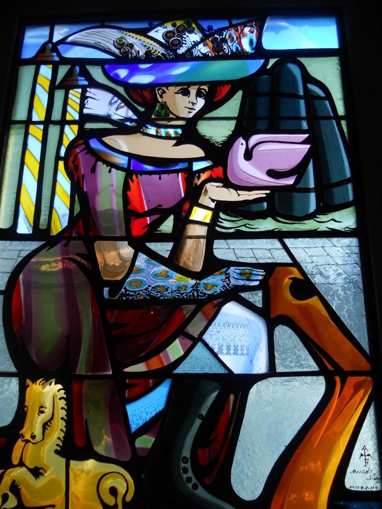 Stain Glass Artwork, Hotel Danieli Venice