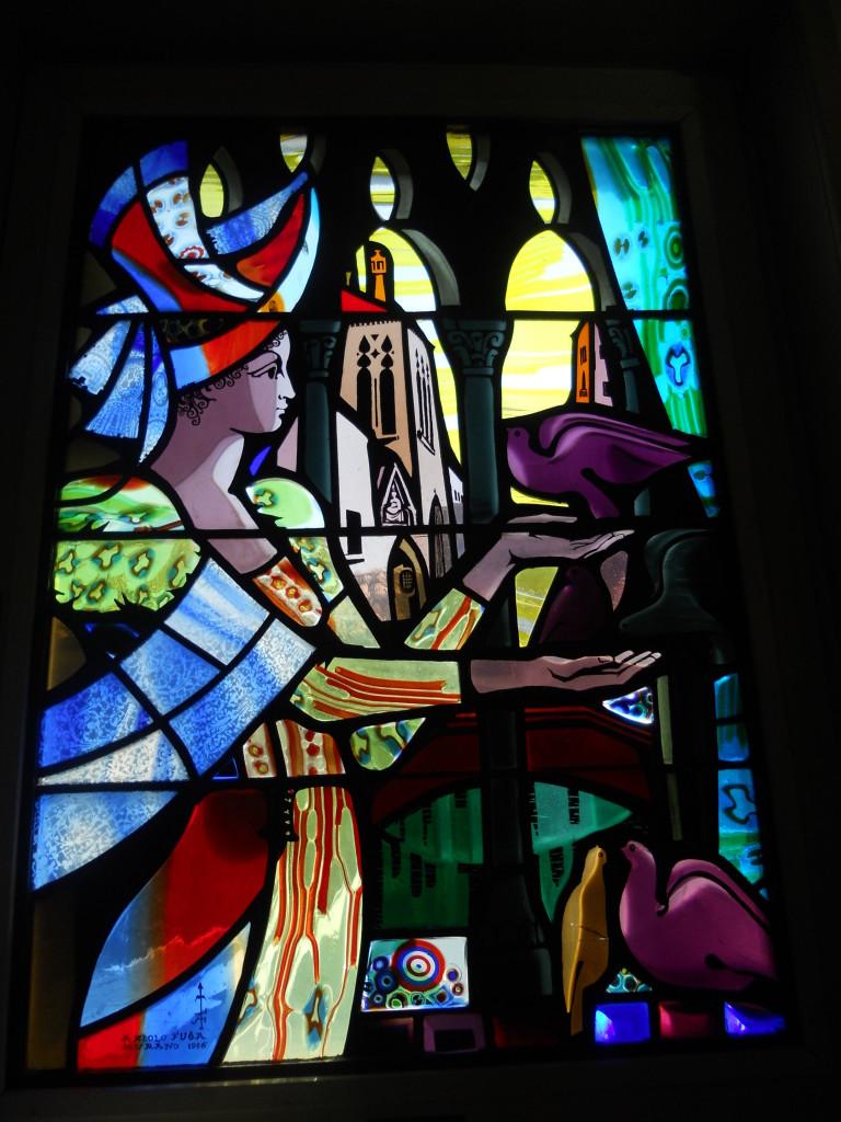 Stain Glass Artwork at Hotel Danieli, Venice