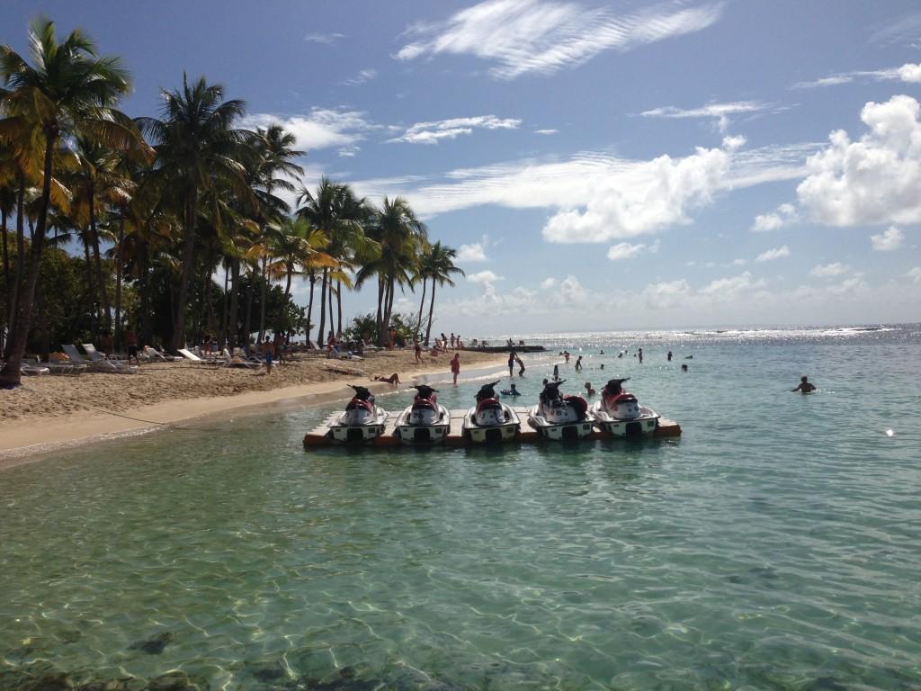 Club Med La Caravelle Jetskis, Guadeloupe