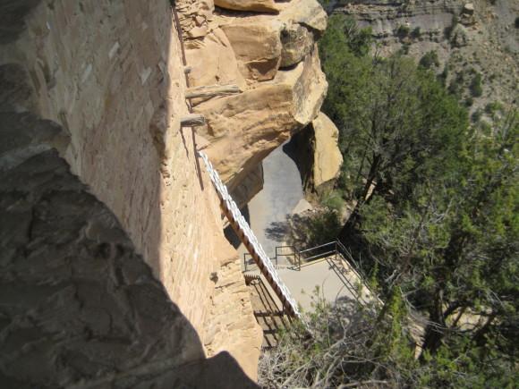 Mesa Verde National Park Cliffs Ladders
