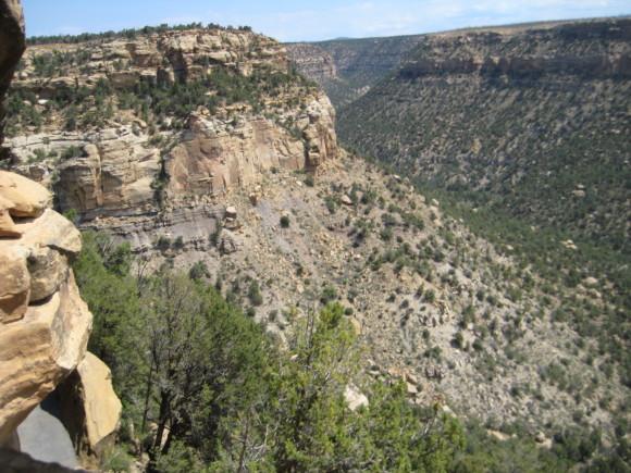 Mesa Verde National Park Cliffs
