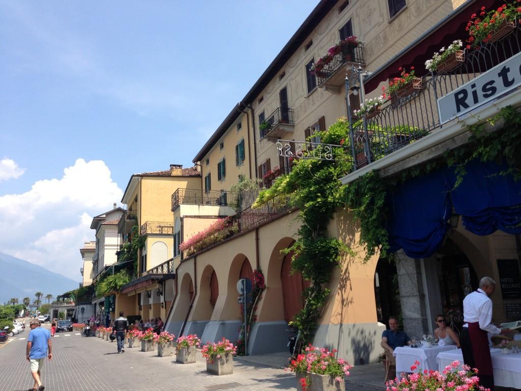 Main street of Bellagio, Lake Como, Italy