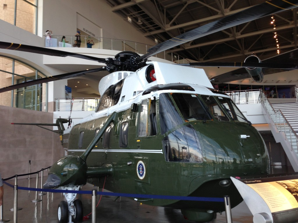 Marine One Exhibit, Ronald Reagan Presidential Library and Museum