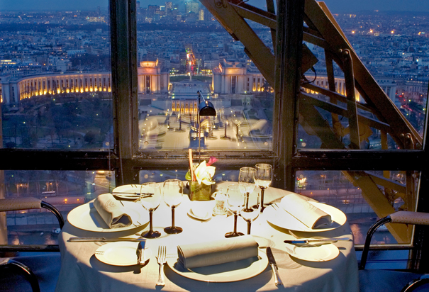 The Eiffel Tower Restaurant