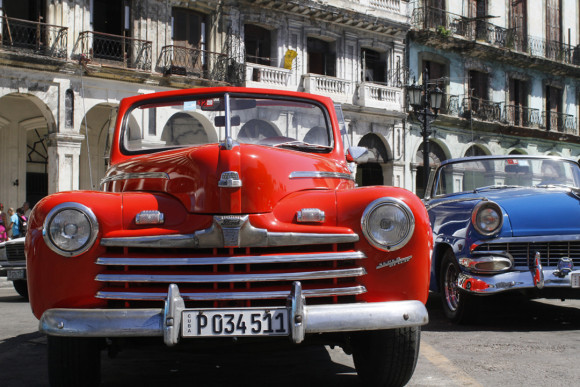 Antique Cars in the streets of Havana, Cuba