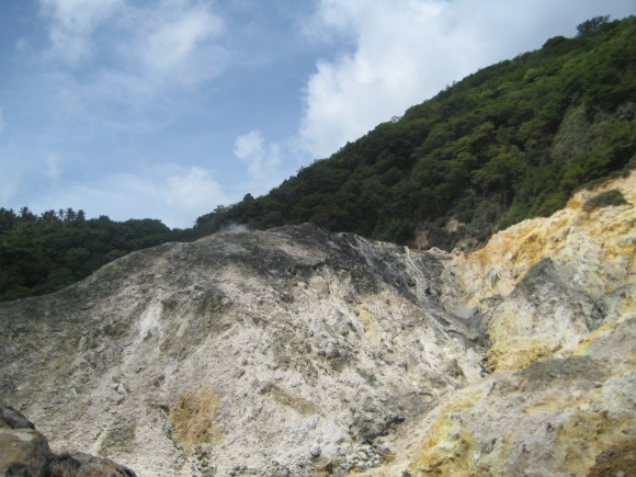Soufriere Volcano - Sulphur Springs in St. Lucia