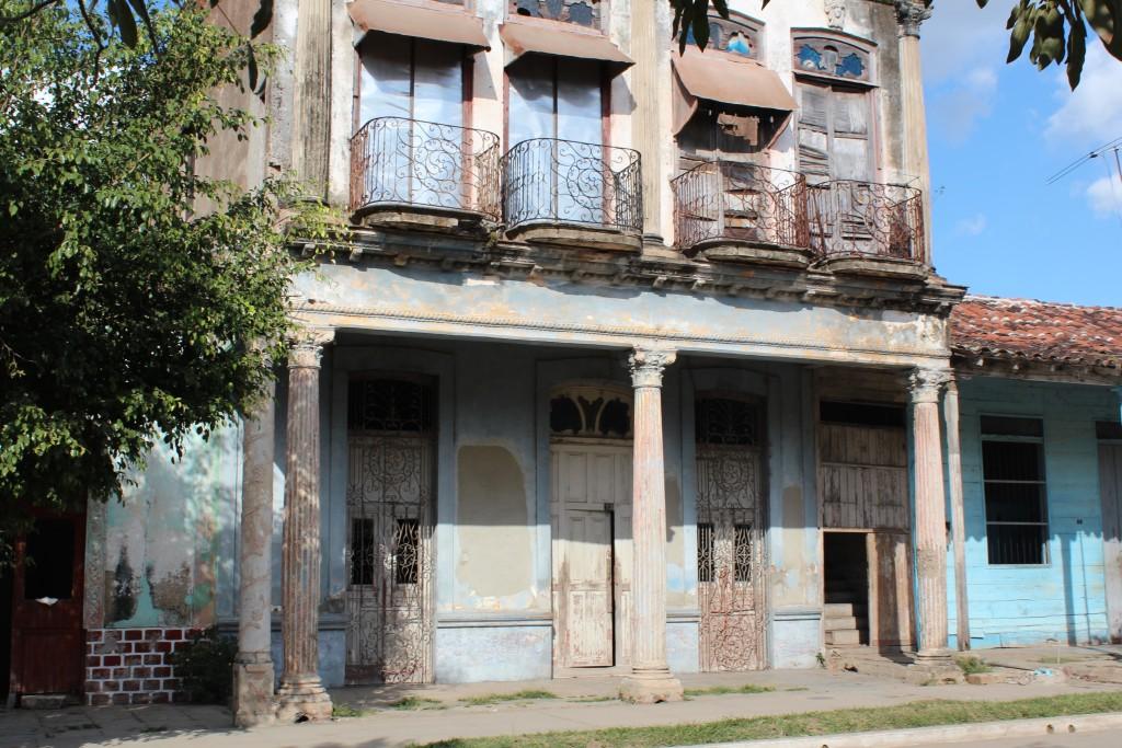 Building in Placetas, Cuba