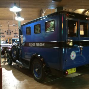 Patty Wagon at The Fort Lauderdale Antique Car Museum