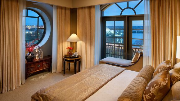 Mandarin Oriental Suite Bedroom