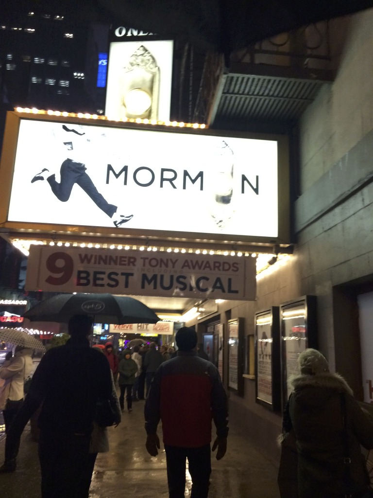 Broadway Show Book of Mormon in New York City