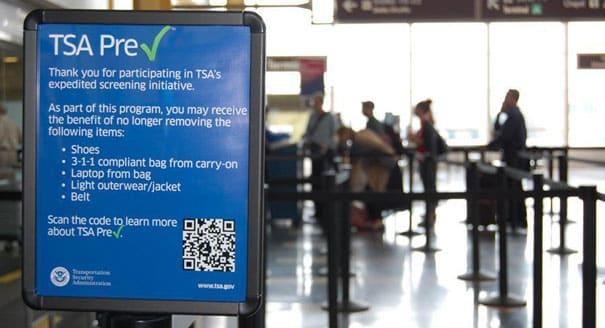 What does the TSA Precheck Mean?