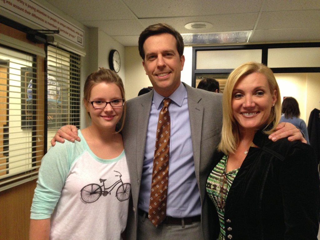 Ed Helms played Andy Bernard in The Office