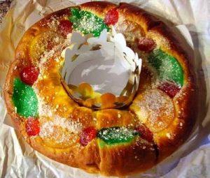 Roscon de Reyes (King's Cake)
