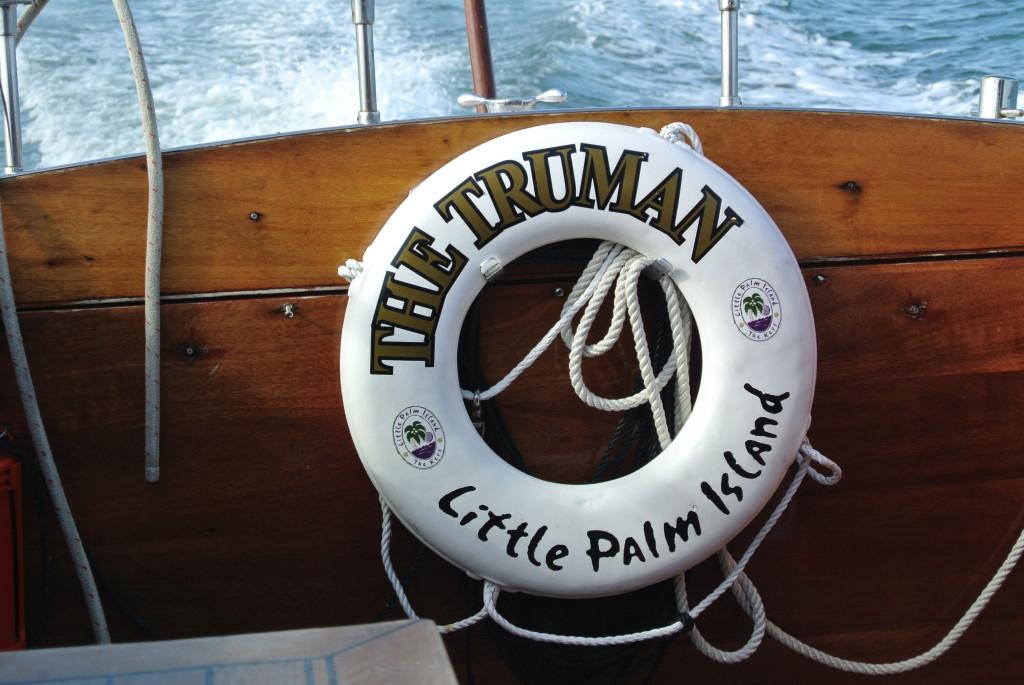The Truman Boat, Little Palm Island