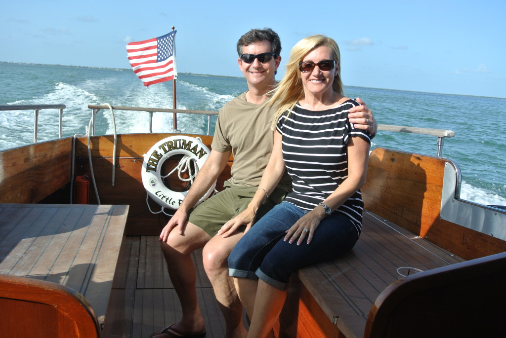 The Truman boat ride to Little Palm Island, Little Torch Key, Florida