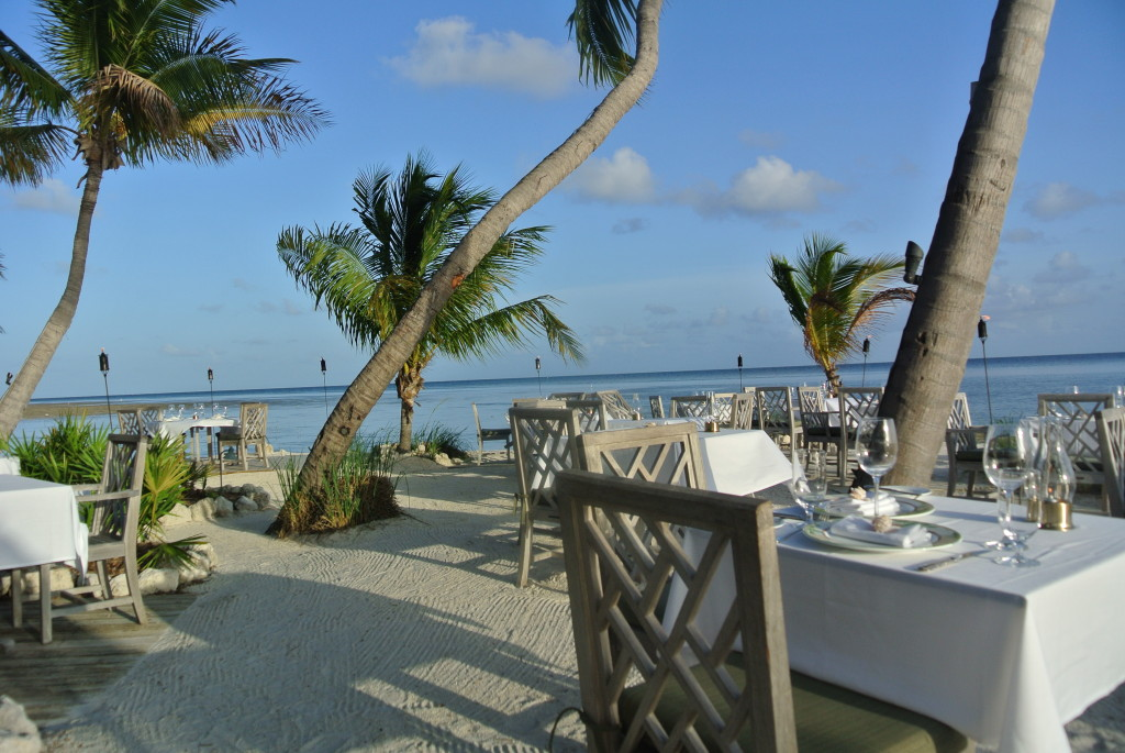 Outdoor Dining at Little Palm Island, Little Torch Key, Florida Outdoor Dining at Little Palm Island, Little Torch Key, Florida