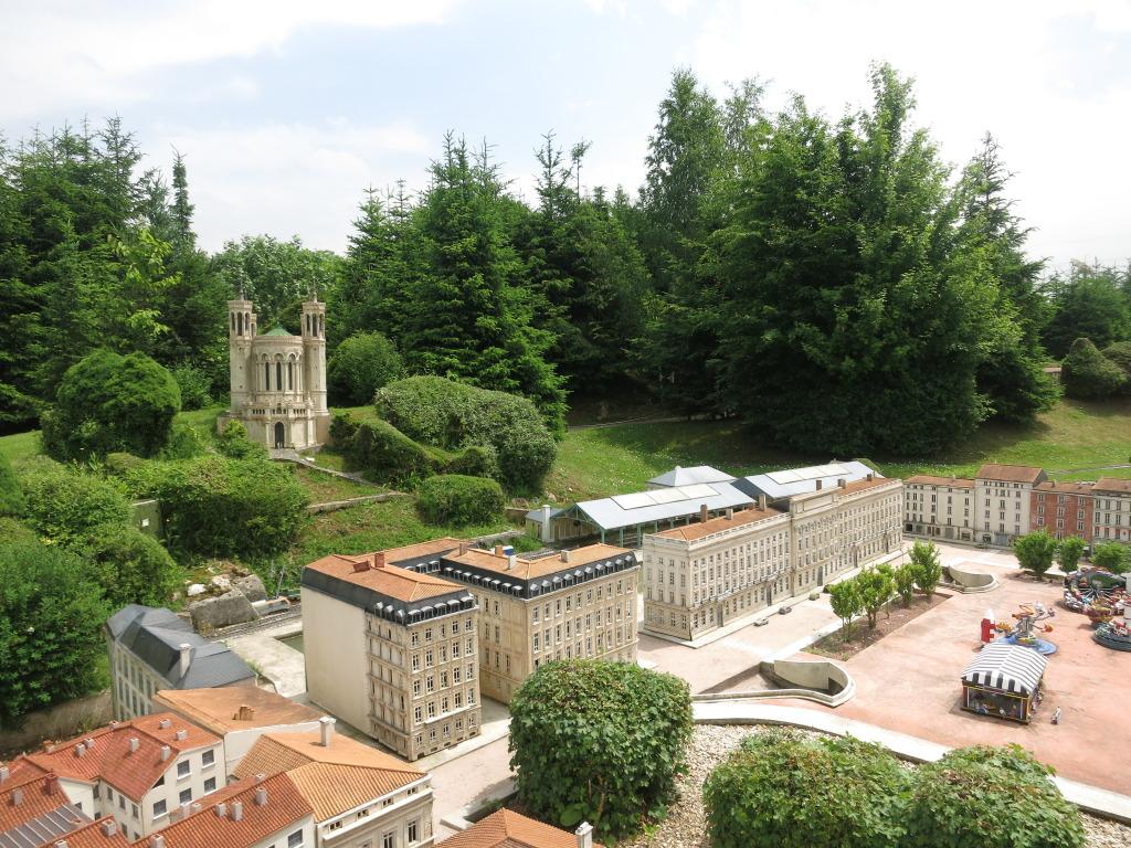 Models in France Miniture Theme Park