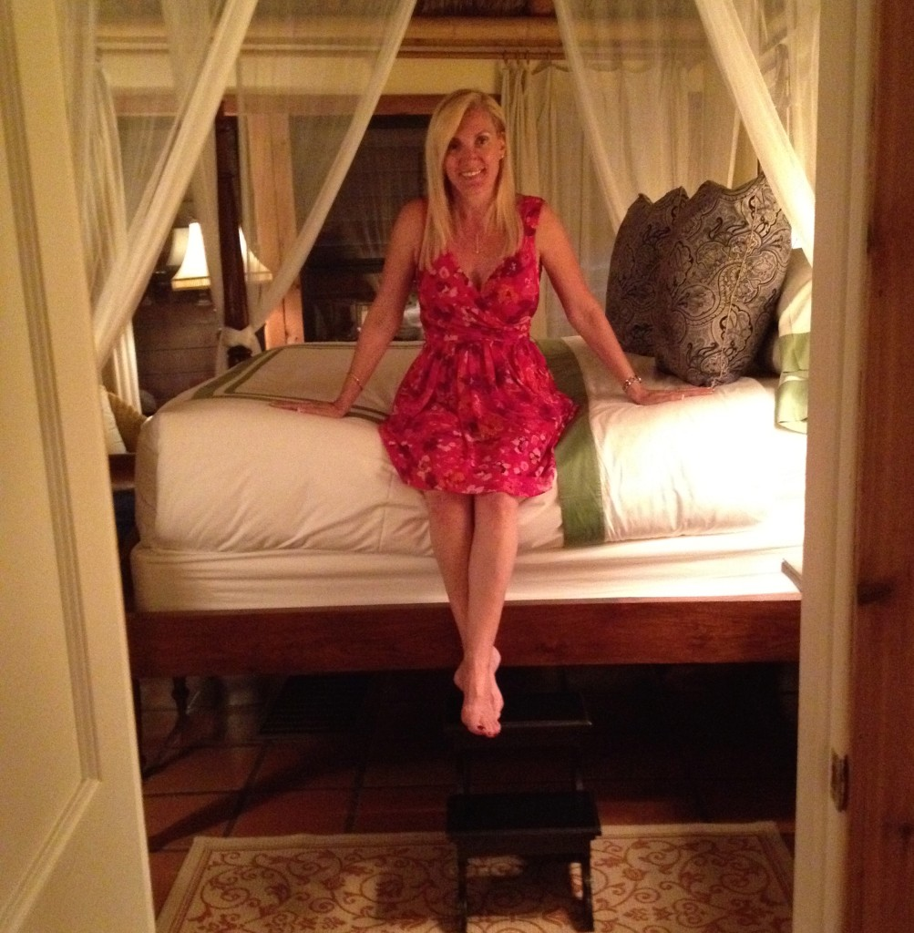 Canopy Bed in Little Palm Island Bungalow, Little Torch Key, Florida
