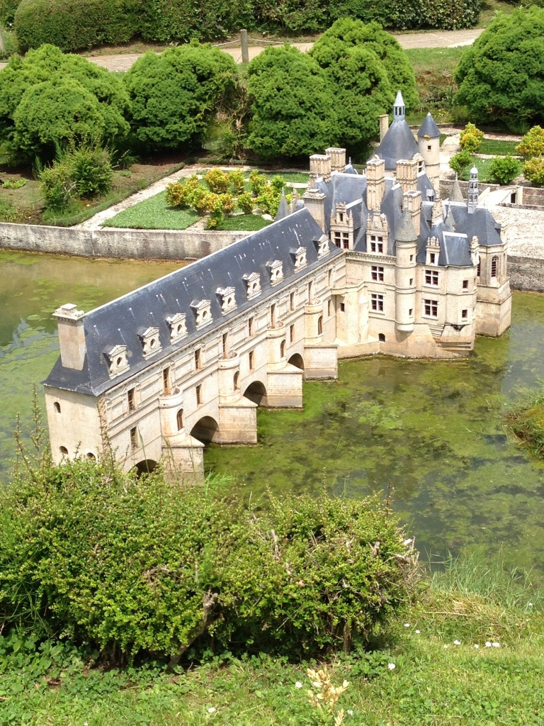 Models in France Miniture Theme Park