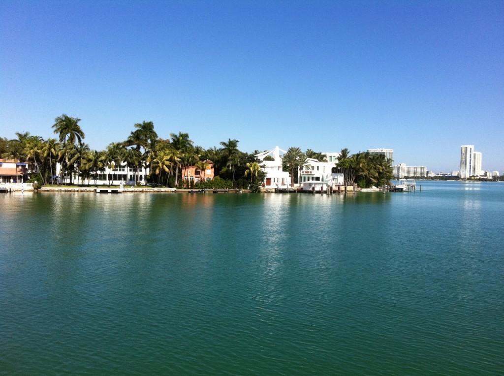Star Island in Miami Beach, Florida