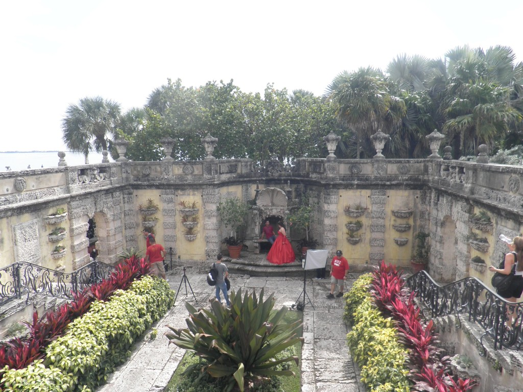 Photo Shot in the Gardens at Vizcaya, Miami