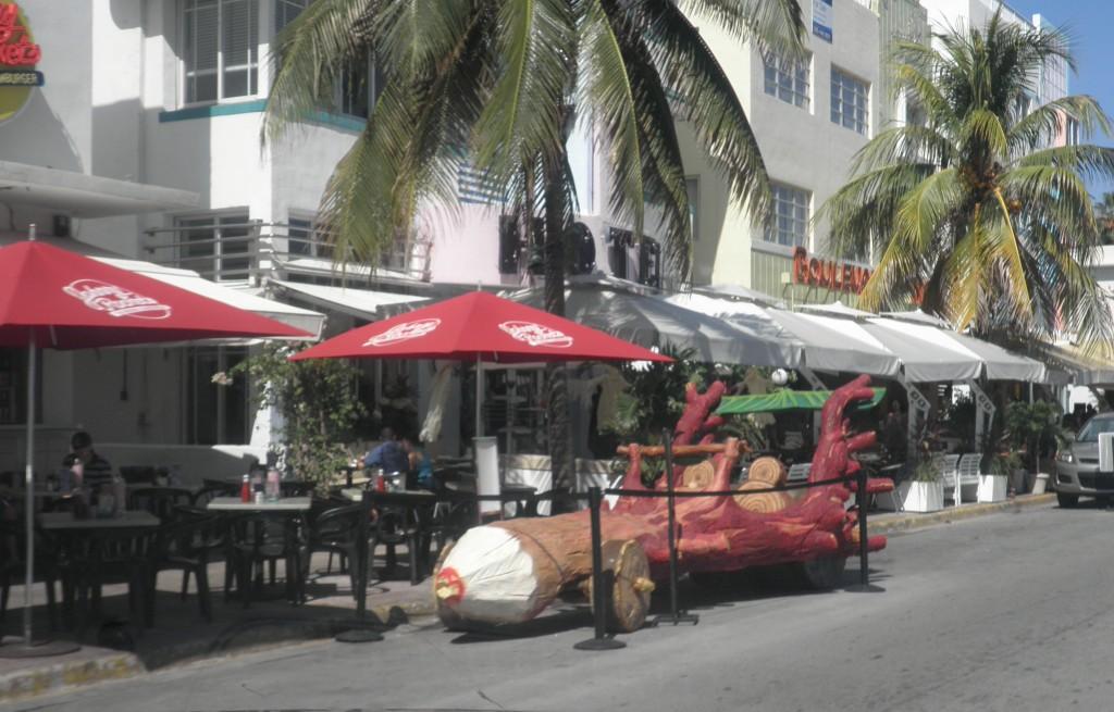 South Beach - Ocean Drive Restaurants