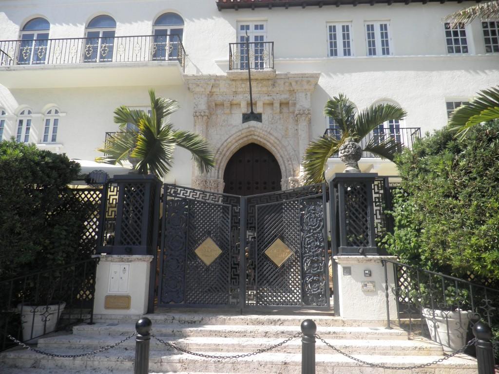 Gianni Versace's Miami Beach home it's called The Villa Miami Beach