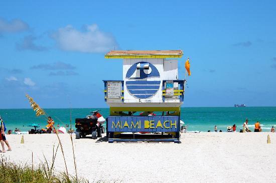 Miami Beach from Ocean Drive