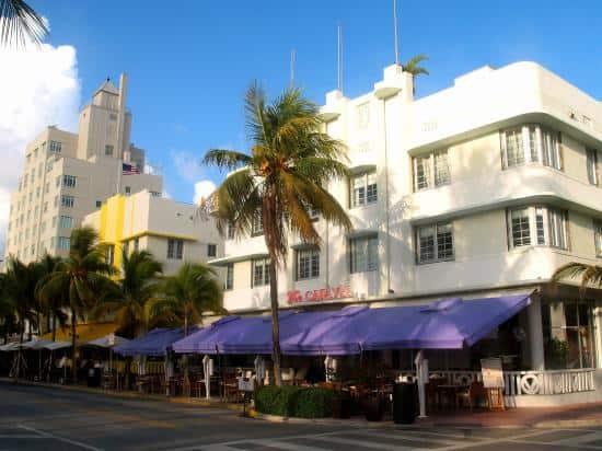 South Beach - Ocean Drive Restaurants,