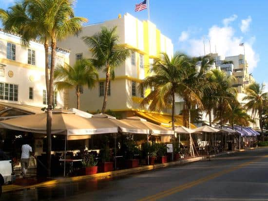 South Beach - Ocean Drive Restaurants, Miami Beach