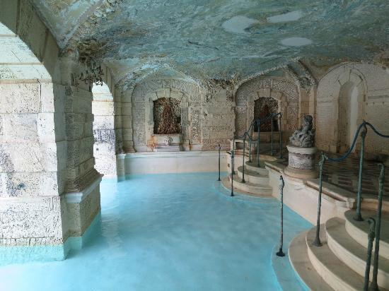 Vizcaya indoor/outdoor pool, Miami, Florida
