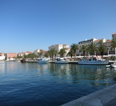 Day in Split, Croatia