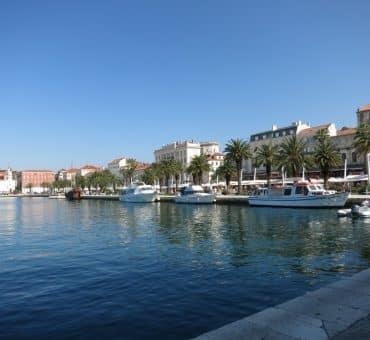 Day in Split, Croatia