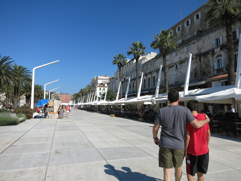 Riva Harbor Promenade, Split