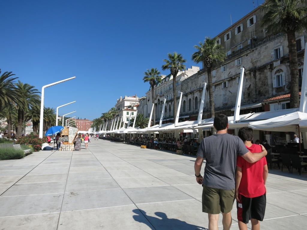 Riva Harbor Promenade, Split