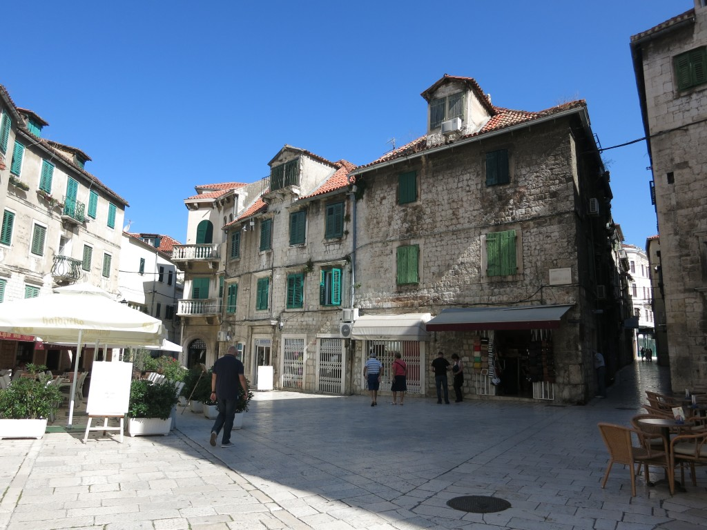 Streets inside Diocletian's Palace