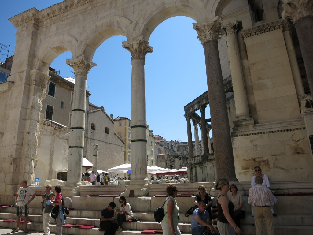 Roman Walls in Diocletian's Palace