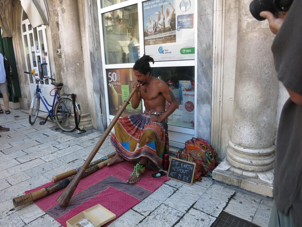 Music on the street of Split, Croatia