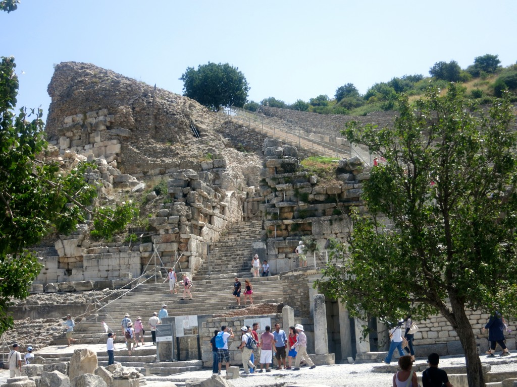 Theatre of Ephesus Stairs