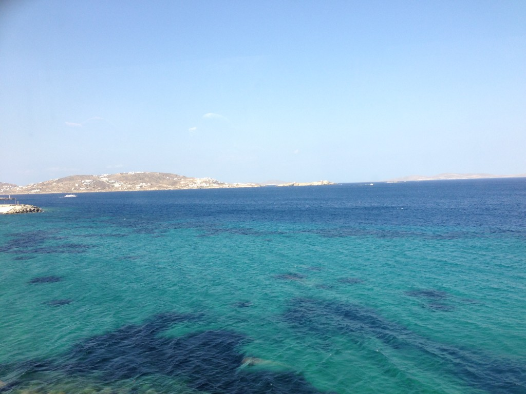 Aegean Sea, Mykonos, Greece