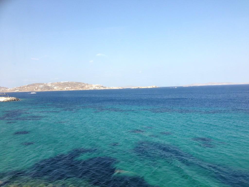 Aegean Sea, Mykonos, Greece