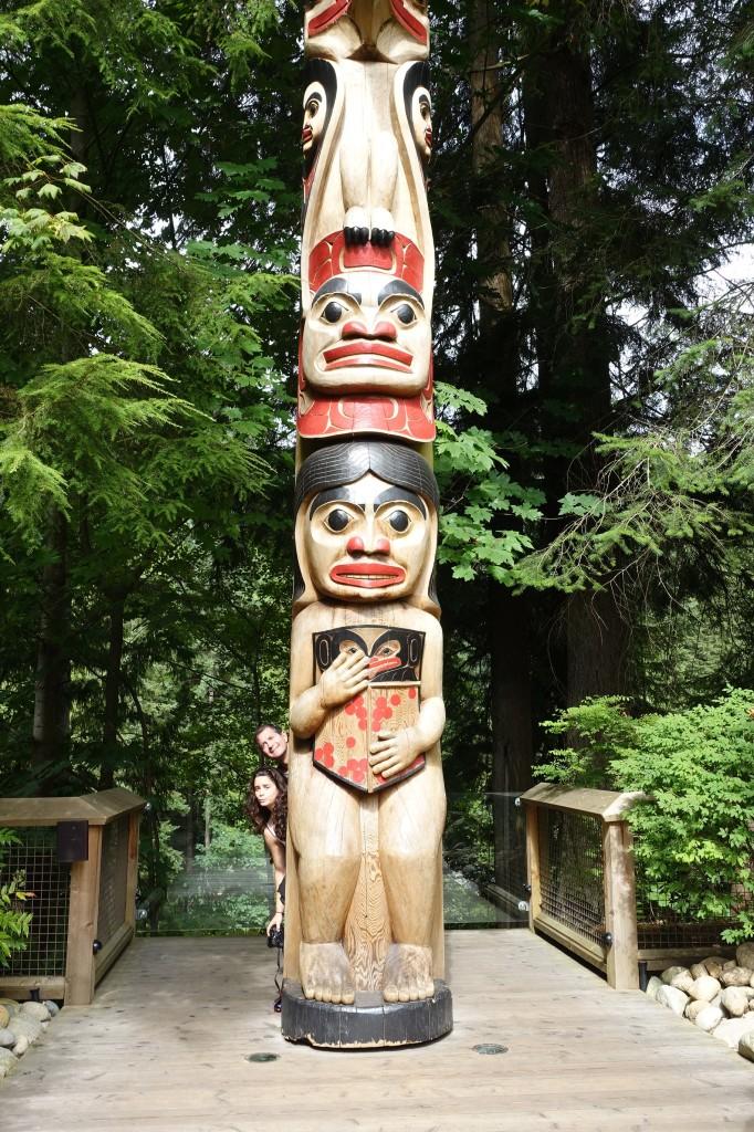 Capilano Suspension Park Totem Pole