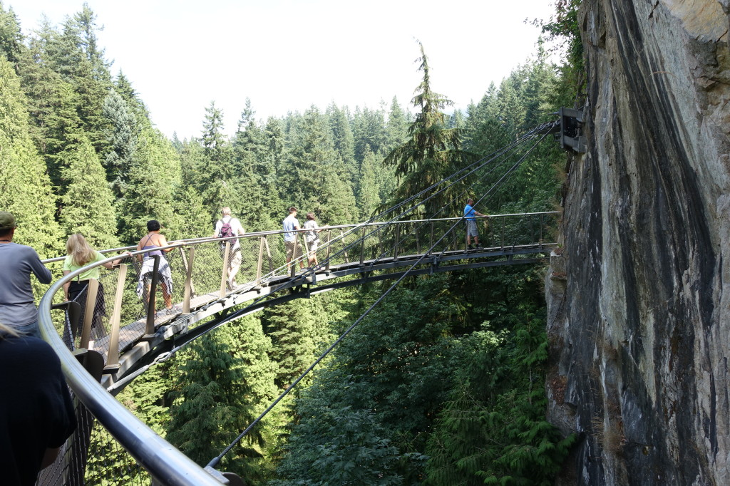 Cliffwalk, Capilano River Canyon