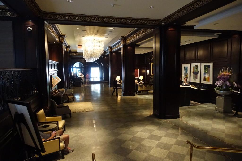 Rosewood Hotel Georgia Lobby Area