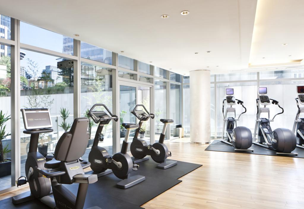 Fitness Center (photo credit Rosewood Hotel Georgia)