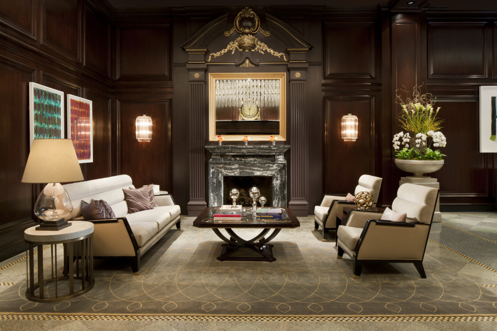 Lobby Area (photo credit Rosewood Hotel Georgia)
