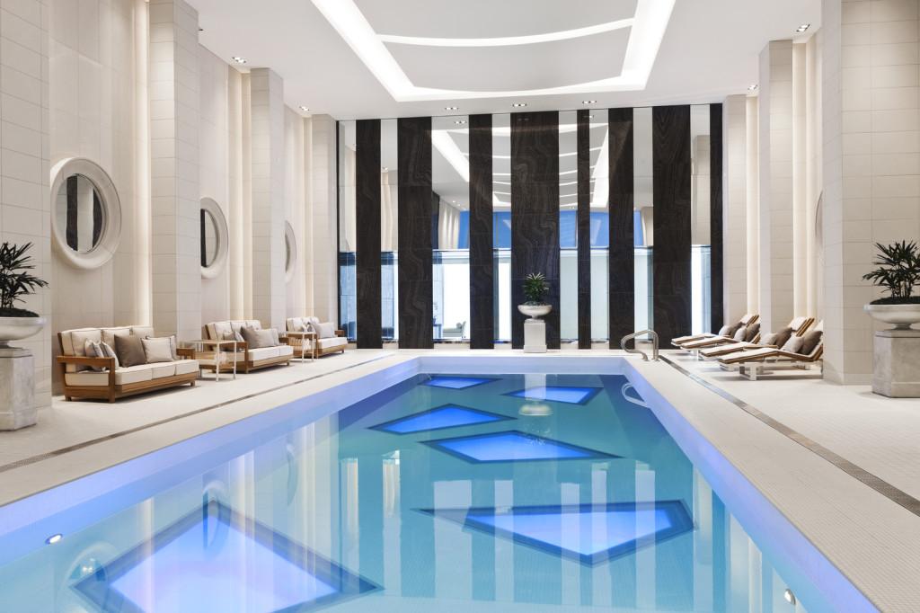 Pool area (photo credit Rosewood Hotel Georgia)