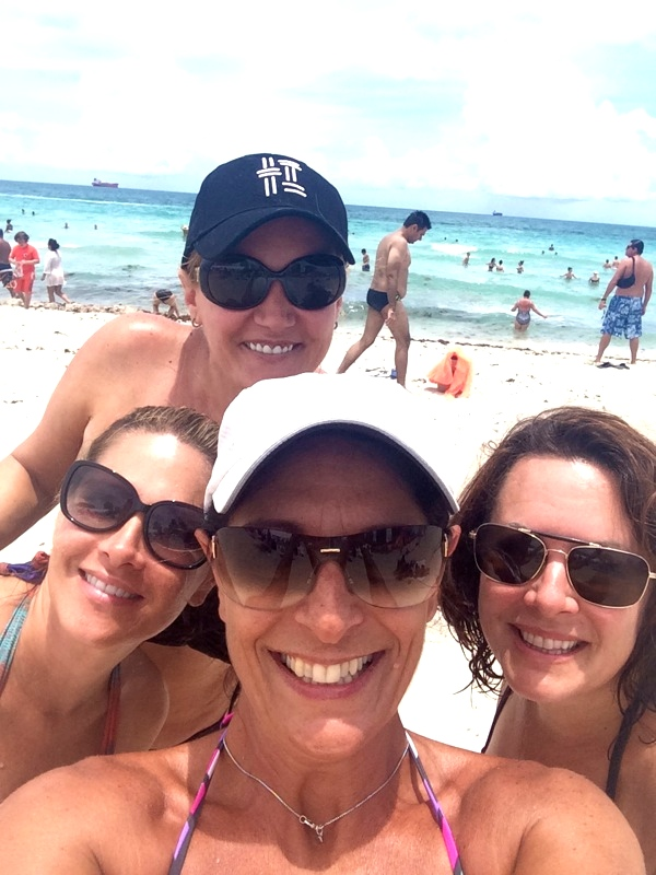 Selfie Of The Group At Beach Loews Miami Hotel